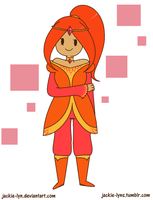 Human Flame Princess by Jackie-lyn
