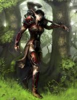 Off to No Good by angel5art