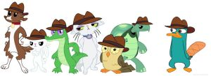 My little OWCA agents by kateDragon