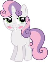 Sweetie Belle - It Wasn't Me by Firestorm-CAN