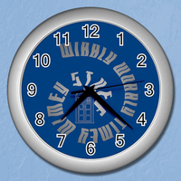 Dr.Who Wibbly Wobbly Timey Wimey Stuff Clock by Enlightenup23