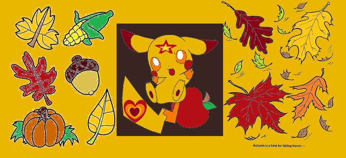 Autumn The  Fall Time Starchu by Bluedragon85