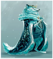 The Lord of the Northern Wind by Kipine