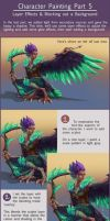 Character Painting Tutorial Part 5 - Effect layers by Risachantag