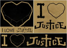 I love Justice pack by cselenka