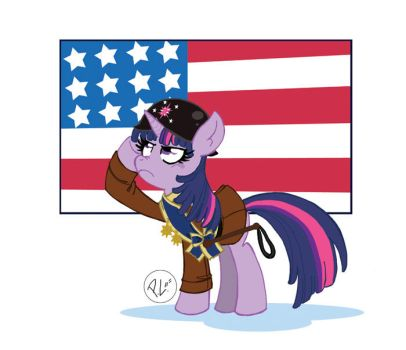 Military is Magic Twilight by GreenWiggly