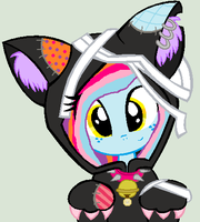 Kitty Dolly Flash by cottoncloudyfilly