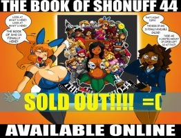 Book of SHO 44 SOLD OUT by ShoNuff44