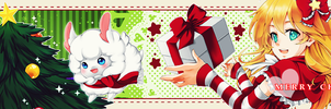 Yumiko's FFSng Christmas Banner by Ouressi-Hime
