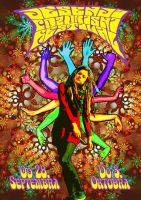 Psychedelic Art Poster by blaunagel