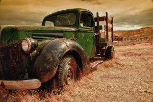 Old Truck Bodie 2010 HDR by Mac-Wiz
