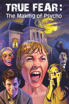 Psycho Dvd Cover (with Title) by davidr2000
