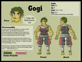 Gogi: Row's comic project by Hunter-Wolf