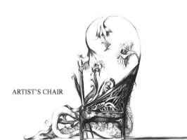 Artist's Chair by Legallydead