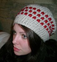slouchy beret hat by taralynnjane