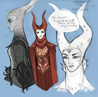 Maleficent doesn't know anything about love by Domnics