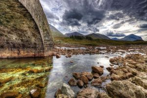 Glen Sligachan Bridge by Spyder-art