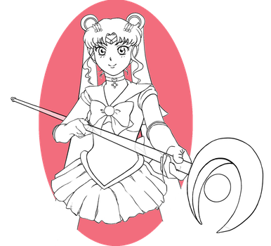 Sailor Moon by FaeHime