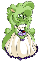 Beautiful Bride by CharCharCommish
