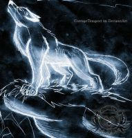 Ghost Wolf by CorruptTempest
