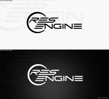 RESENGINE Logotype by voigrafic