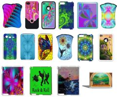 electronics cases (iphones,ipads...) by KRSdeviations