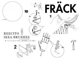 IKEA BRUSH SET by reecito