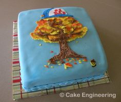 Father grows best: threadcakes by cake-engineering