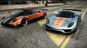 porsche 918. NFS the run by DazKrieger
