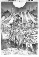 Nightwing 3 Cover by eddybarrows