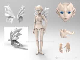 Light fairy preview Sheet by silverbeam