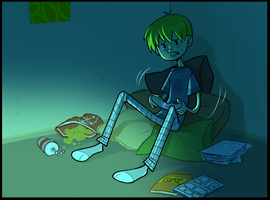 Scrapped Comic-panel by Abi-R