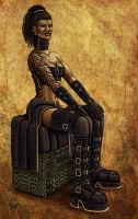 African Gothic by Winterflood