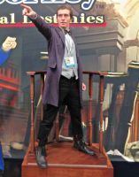 SDCC 2013 - Eleventh Doctor: Ace Attorney2 by CptTroyHandsome