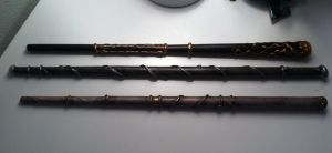 Harry potter paper Wands by owls1999