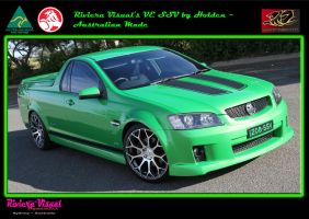 Green to be seen  2008 Holden VE SSV by RivieraVisual