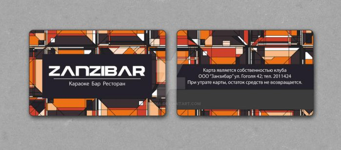 pl.card for a club by Aliroll