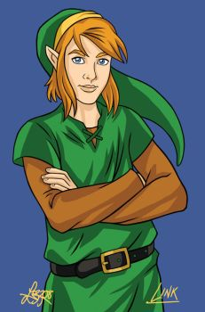 A Link to the Past: Link by bratchny