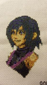 KH:BBS - Aqua (x-stitch) by thirteendaze