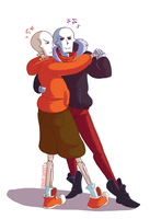 Undertale::Underswap::SwapFell:: Learning to Waltz by SpaceJacket