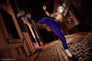 SFIV - Vega High Kick by AmenoKitarou