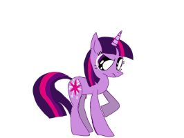 Twilight Sparkle ( not alicorn!!!!) by Mlpblob