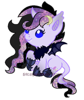 AT Shipping foal for White-Moonlight by SugarMoonPonyArtist