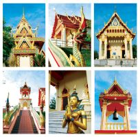 Thai Temple by midnight-clover