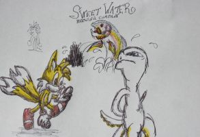 Sweet Water, Tails and more! by creecreehoneybees