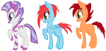pony adoptables 2 by Foal01