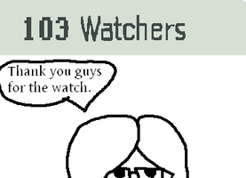103 Watchers by yaoilover998