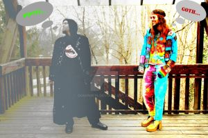 Hippie Goth by Dominik19