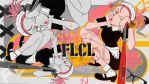 Wallpaper: FLCL - Raharu by Panelletdelimon