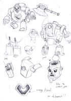 Tin sketching by Riverlimzhichuan